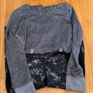 Free to be hooded shirt and leggings